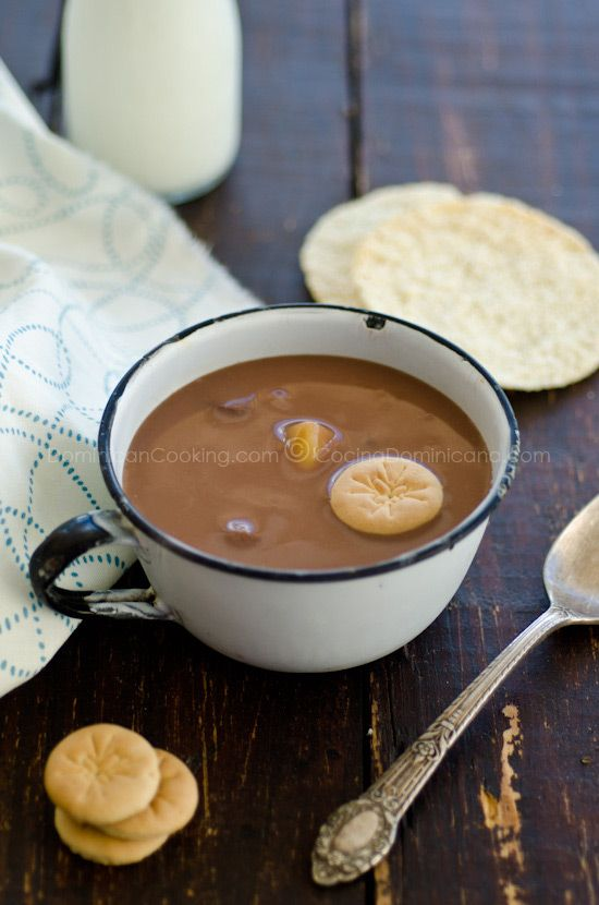 Habichuelas Con Dulce ( Sweet cream of beans). This is a dominican dish my Grandmother would make for me growing up. It is so delicious I would love to make it for my girls.