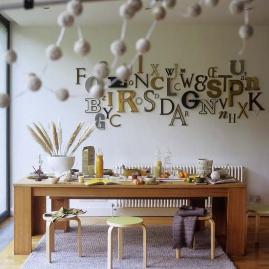 Dining Room Wall Decorating Ideas