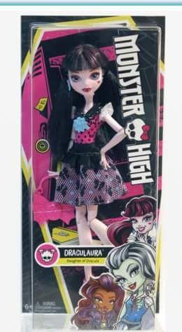 Monster High basic Draculaura doll 2016. Credit to: Monster High Dolls on Facebook