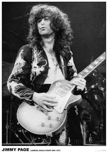 Led Zeppelin Jimmy Page / Earls Court 1975