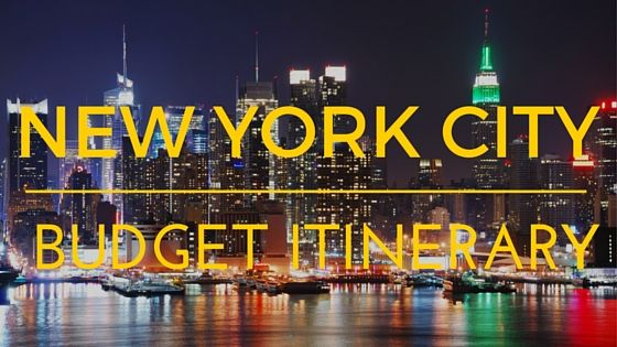 The Perfect NYC Budget Itinerary For First-timers   If you happen to be a first-timer planning your very first 'budget friendly' weekend getaway trip to New York City well you're in for a treat. We've pulled together the perfect New York City budget itinerary that has it all for you first-timers.