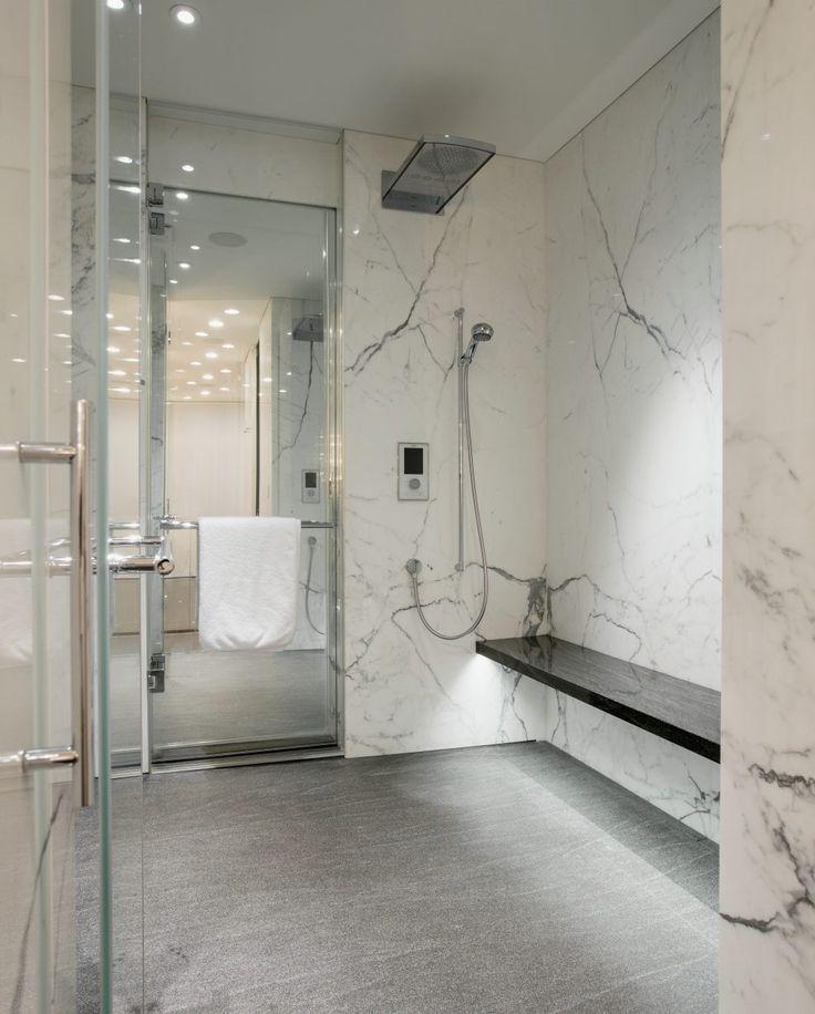 Naturstein Dusche Mit Sitzbank Eine Der Bad Ideen