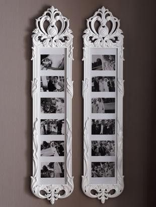 Rococo Style Collage Frame