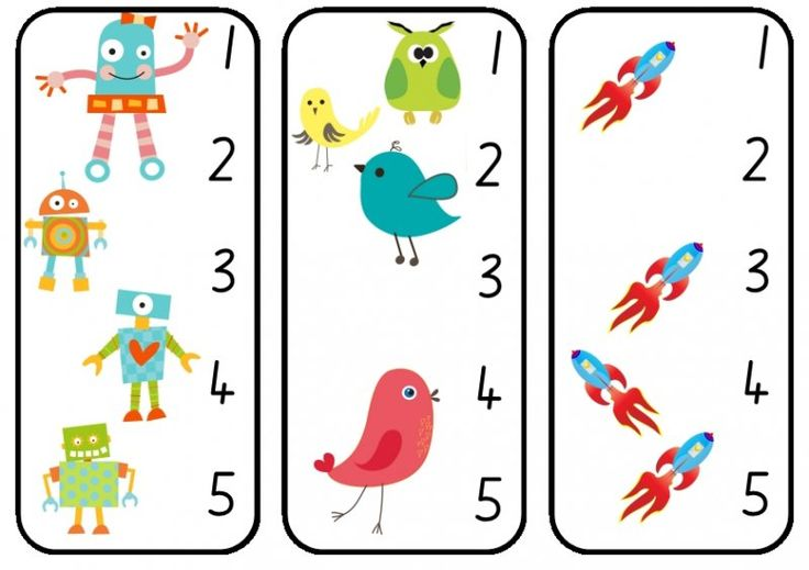 Use these cards as a great way to reinforce the counting sequence to five, and focus on one to one correspondence  when counting whilst also working on those all important fine mo