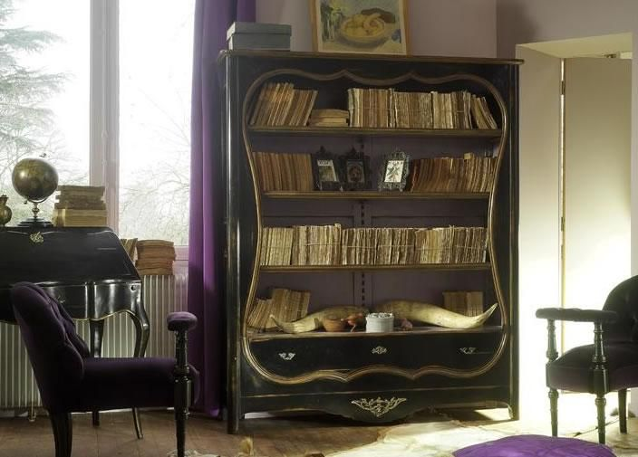 Painted Bookcase from George Tannahill & Sons - Large solid wooden shelve unit - tannahillfurniture.co.uk