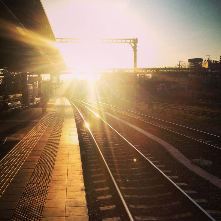 Dawn. Instagram. MrJohnSarlis. Railway. Sun. Greece. Athens.