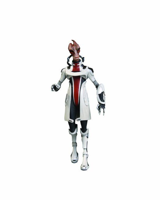 Amazon.com: Big Fish Toys Mass Effect 3: Series 2: Mordin Action Figure: Toys & Games