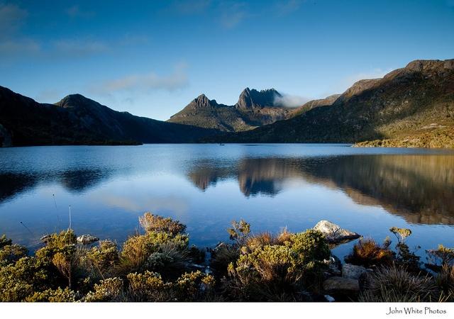 Dove Lake Cradle Mountain Tasmanië