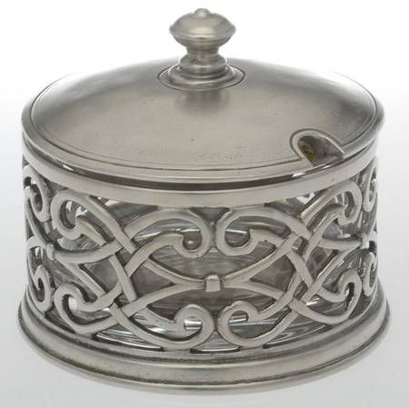 Your Favorite Brands Metal Giftware Grated Cheese Pot