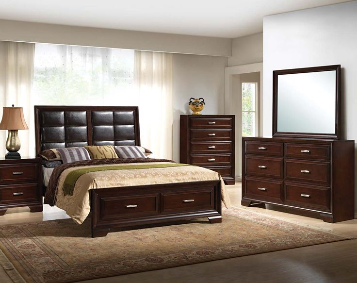 American Freight Bedroom Set. Espresso Wood Finish  Padded Headboard Jacob Storage Bedroom Set 16 best American freight bedroom images on Pinterest Queen