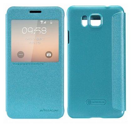 Nillkin S View Smart Case Preview - Μπλε Sparkle (Samsung Galaxy Alpha G850F) - myThiki.gr - Θήκες Κινητών-Αξεσουάρ για Smartphones και Tablets - Χρώμα Μπλε Sparkle