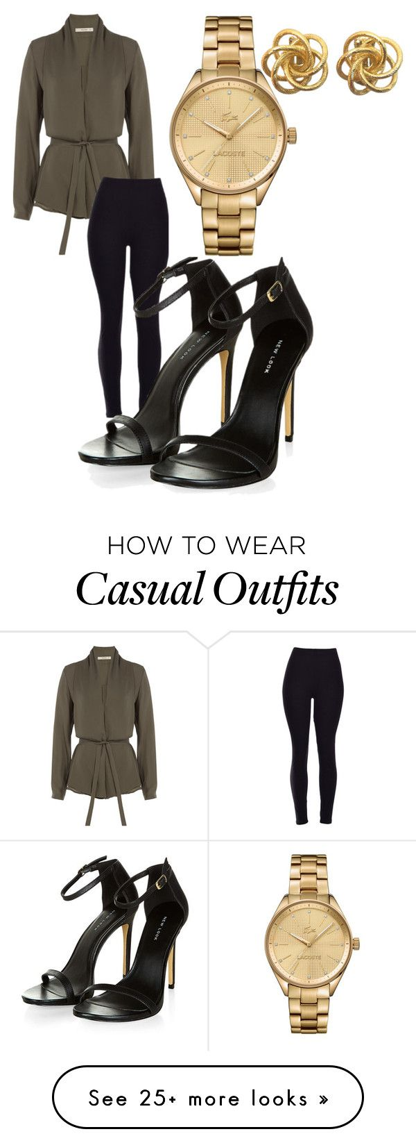 """Casual"" by saam-savage on Polyvore featuring Etro, Lacoste, women's clothing, women's fashion, women, female, woman, misses and juniors"