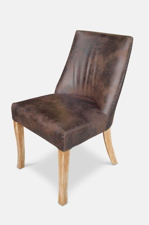 Chateau Dining Chair - Chocolate from The Furniture Shack