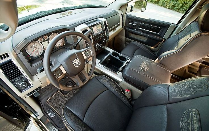 2012 dodge 3500 longhorn - Exactly what the bae's new truck looks like inside!