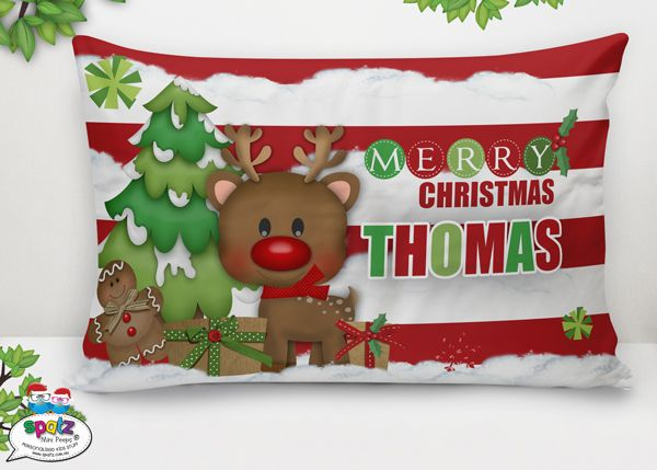 Ho, Ho, Ho! Get your hands on some awesome SPATZ festive goodness and help your Mini Peep feel extra special at Christmas with their very own Personalised Christmas Decoration,  Personalised Christmas Pillowcase, Personalised Santa Sack or Personalised Kids Christmas Plate.