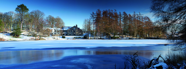 Gilpin Lake House on Knipe Tarn   Luxury Lake District Accommodation