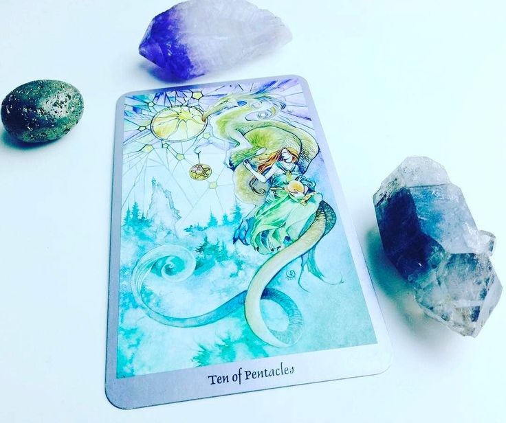 Daily #Tarot Reading for February 22: Ten of Pentacles When we are #protected by strong #steady structures of our own making and when material #abundance offers us mental and #financialsecurity we are supported by the energy of the Ten of Pentacles. Pentacles represent the earth element  the realm of #money #resources #jobs and material #security  and Tens are always the most the culmination. The Ten of Pentacles augurs that we have worked long and hard and can expect to enjoy the abundant…