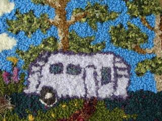 Rug Hookings by Nova Scotian Artist Tacha Reed