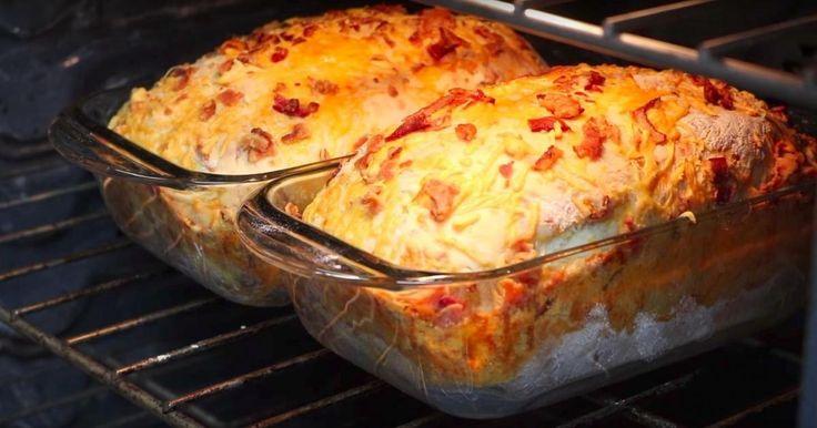 Un bon pain chaud tout droit sorti du four, c'est pas le bonheur ça?!