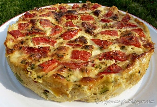 Potato Frittata - a light, comforting and delicious meal.