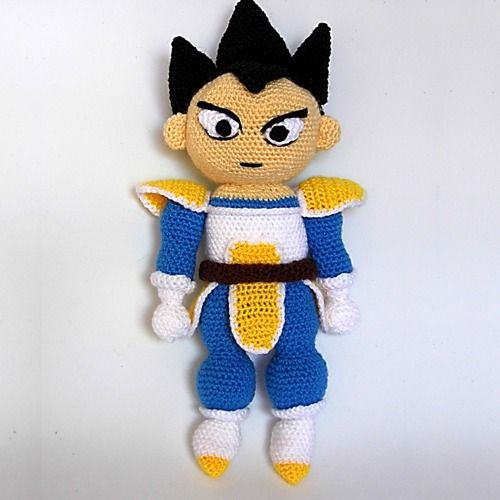 Amigurumi Dragon Ball Goku : Patron Vegeta (Dragon Ball) Personajes Pinterest Red ...