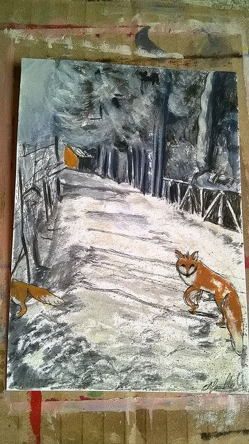 the passage of two foxes - cristina gemellaro