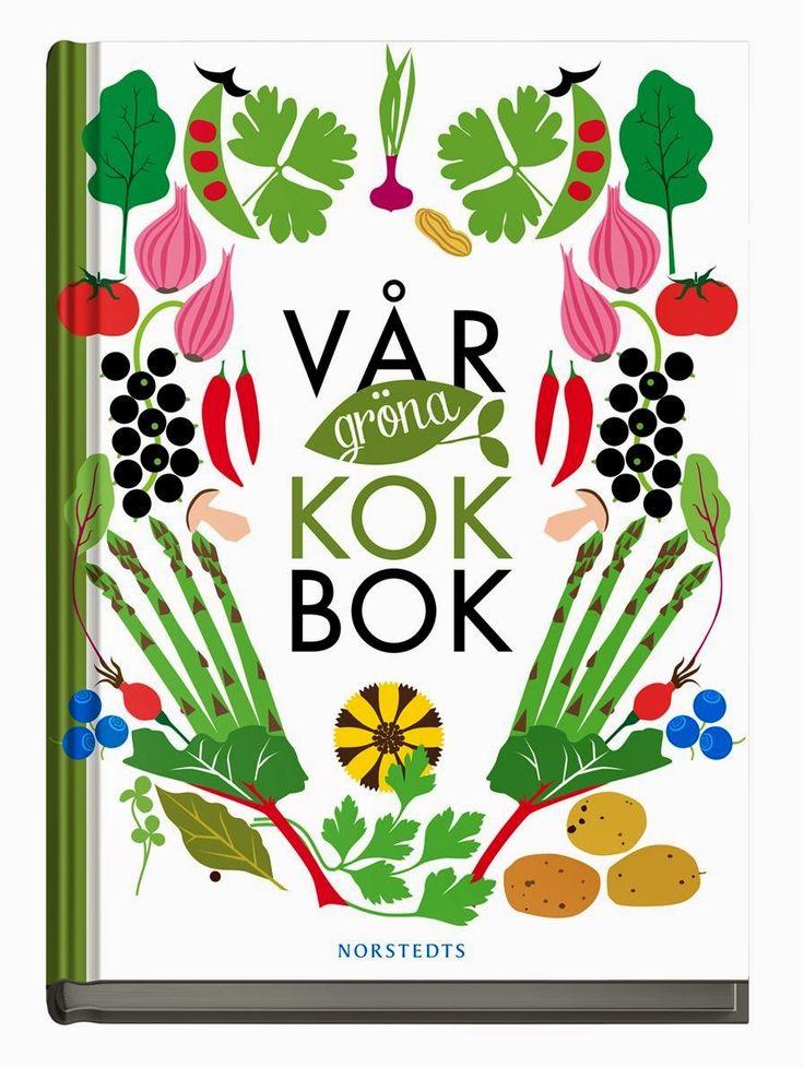"""Recension av boken """"Vår gröna kokbok"""" från Vego Eco."""