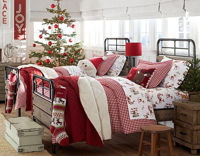 I love the Pottery Barn Kids Seasonal Flannel on potterybarnkids.com