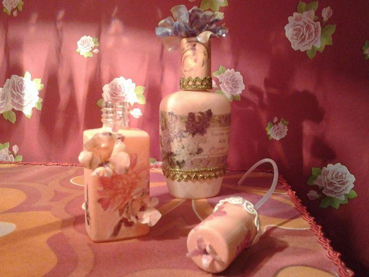 small perfume bottles made by Erifili