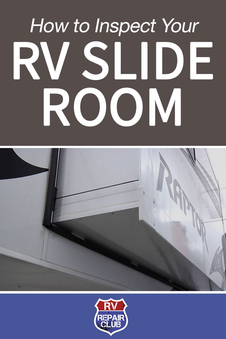 RV Slide outs are designed to be low maintenance, but periodic inspection is required to keep them in good condition. Slide-out mechanisms are usually driven by 12 volt DC mechanism or by hydraulic cylinders. Gear driven mechanisms should be inspected for any foreign object that could get clogged in the gear, or for broken or cracked teeth in the gear or rail. Hydraulic cylinders and rams should never be power washed but should be wiped down if dirt or moisture is present.