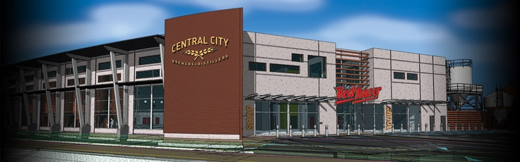 Rendering of the new Central City Brewing location in Surrey, BC. This new state-of-the-art facility is expected to increase brewing capacity to approximately 25,000 hectolitres per year immediately upon completion, with projected expansion to 100,000 hectolitres by its fifth year.