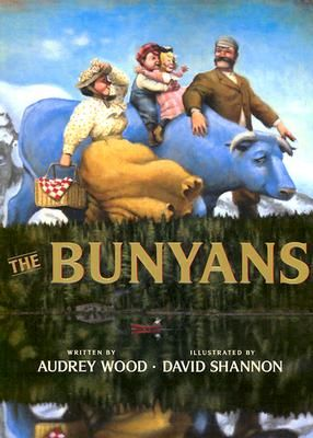 More Paul Bunyan, illustrated by the wonderful David Shannon.  books4yourkids.com: Paul Bunyan and Babe the Blue Ox by Matt Luckhurst