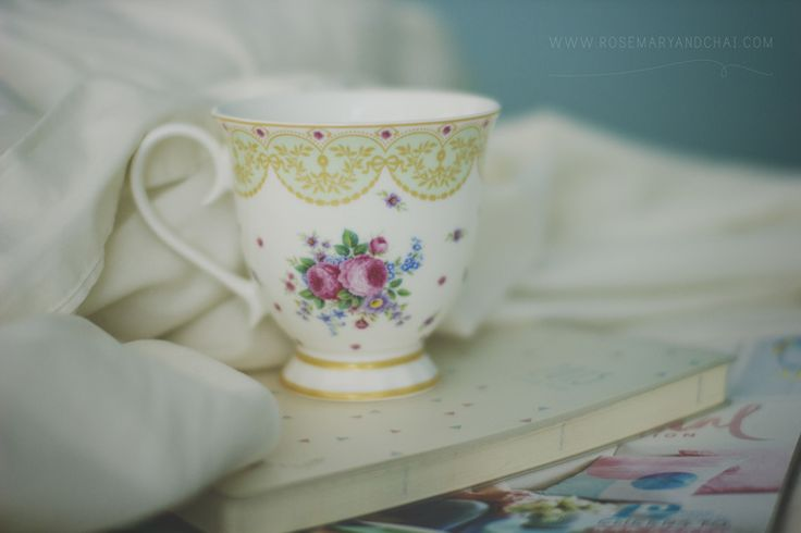 Nothing is more comforting than a warm blanket and a cup of tea