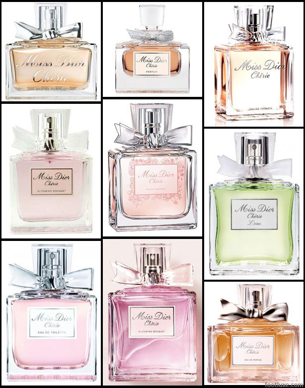 dior perfume collection miss door cherie is my favorite