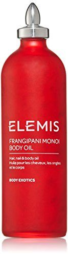Elemis Spa Home Frangipani Monoi Body Oil, 3.4 Ounce