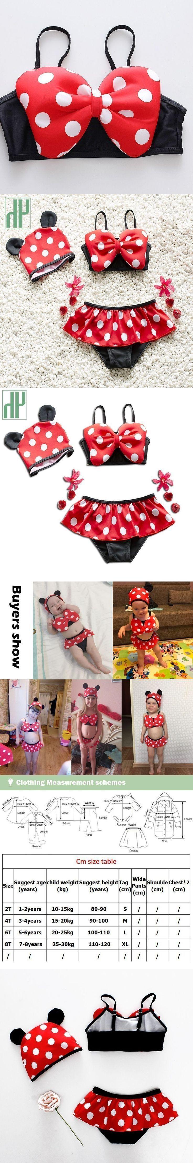 1-8Y Baby Mädchen Bademode Zwei Stücke Sommer Baby Schwimmen Kleinkind Badeanzug   – Bikini Rezept