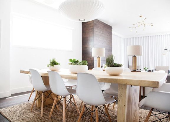 Beautiful space by Homepolish Interior Design with a George Nelson Saucer Lamp | http://modernica.net/saucer-lamp.html