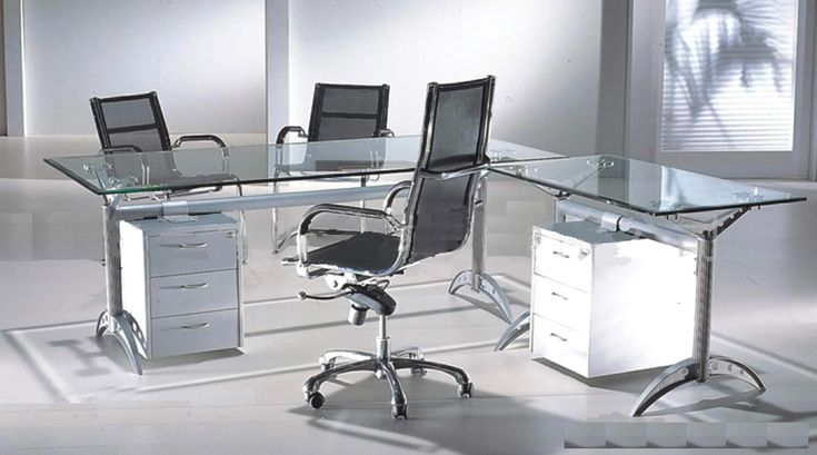 Glass Office Desks For Home