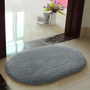 Anti-slip Hairy Soft Memory Foam Bath Bathroom Bedroom Room Floor Mat Rug White Red Coffee