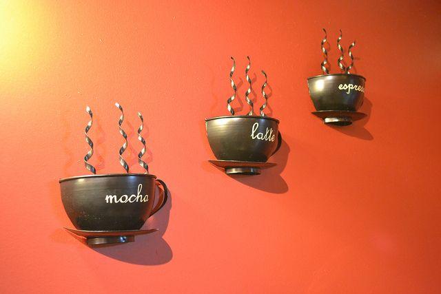 Gatlinburg Coffee Shop Decorations by rebbew, via Flickr