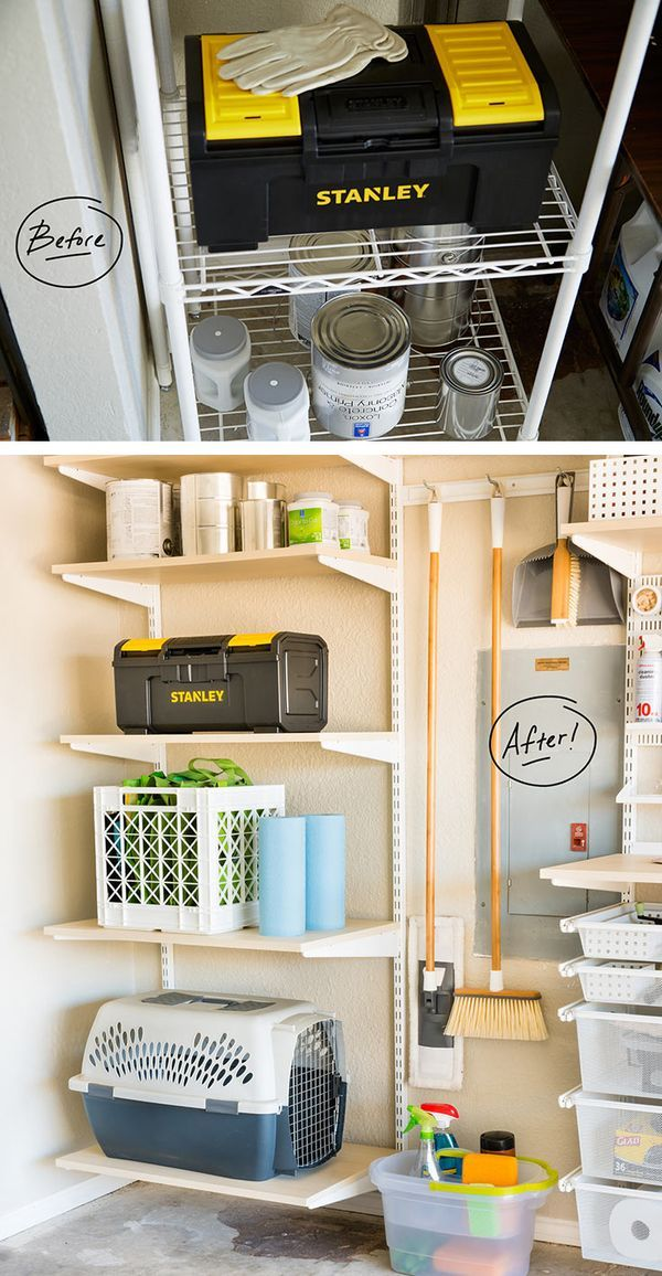 1000 images about garage organization on pinterest for Garage totes 76