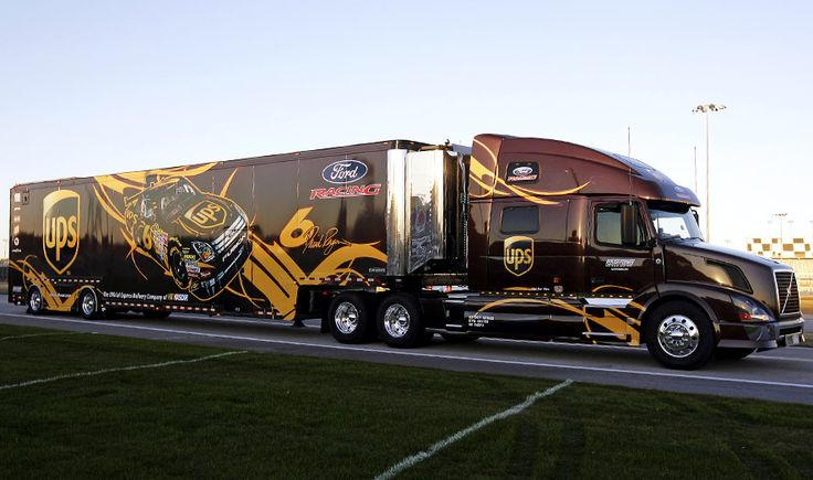 1000+ images about Race Transporters & Haulers on Pinterest | Toyota, Ups international and Jr ...