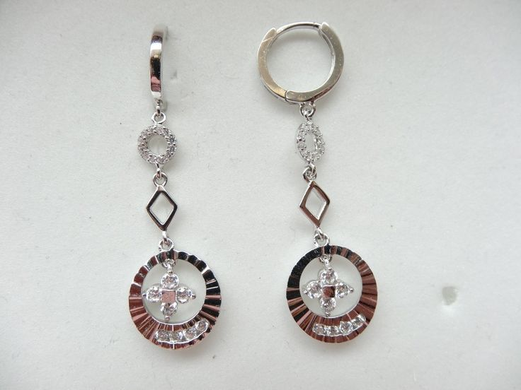 $36 Italian Sterling Silver Earrings, info@bijuterie-online.ro.