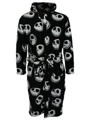 Nightmare Before Christmas Bathrobe #nightmarebeforechristmas #nbx