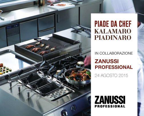 Piade da Chef in collaborazione con Zanussi Professional   #piadedachef #kalamaropiadinaro #zanussi
