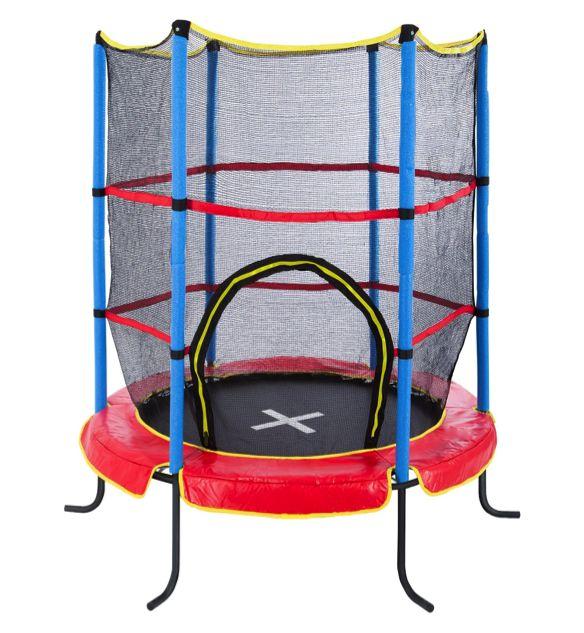 Ultrasport Kindertrampolin Jumper Indoor Trampolin mit hohem Sicherheitsfaktor