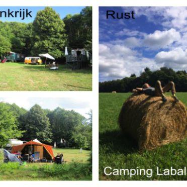 Oh wat een fijne plek , het kan niet genoeg gezegd worden .Camping Labalade in Frankrijk.Zwemen in de rivier , rust in een hangmat tussen twee bomen .Je tent of camper aan de zoom van het bos , kam…