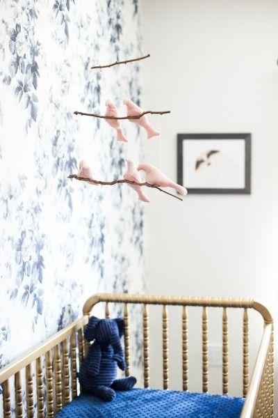 Whimsical nursery: http://www.stylemepretty.com/living/2015/05/03/inside-a-whimsical-vintage-nursery/ | Photography: Stephanie Godfrey - http://www.stephaniegodfrey.com/