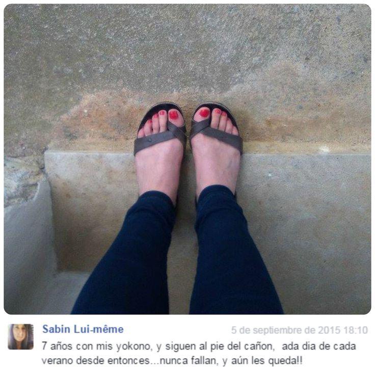 Muchas gracias a todas las #YokonoFans que nos alegran cada día con publicaciones como ésta. #SeguimosMejorando en busca de la #MáximaComodidad y #Calidad #MadeinSpain #Yokono #YokonoShoes #Shoes #Zapatos