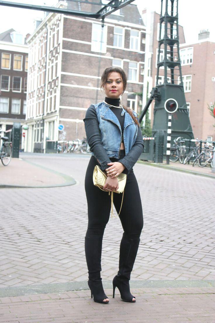 Street Style : Denim - Cositas Fashion Blog